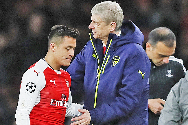 Both Wenger and Alexis Sanchez's futures at the club are in doubt. - AFP