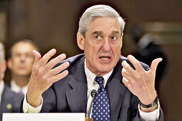 In this file photo, former FBI Director Robert Mueller testifies on Capitol Hill in Washington. - AP
