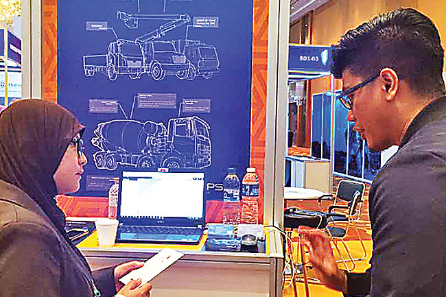 BruGPS Technologies Sdn Bhd at the tech expo
