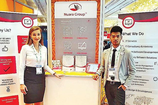 Nuara Group Sdn Bhd at CommunicAsia 2017. - COMMUNICASIA 2017