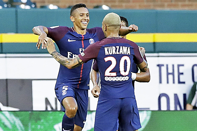 Alves Makes Debut As PSG See Off Roma On Penalties