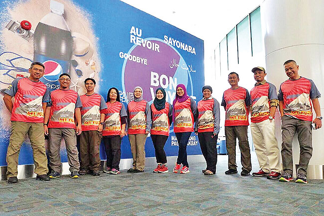 Brunei climbers set for Mount Fuji expedition