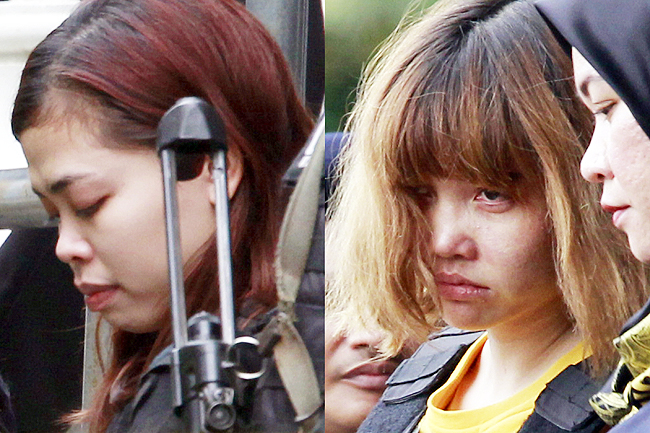 Kim Jong-nam murder suspects expected to plead not guilty