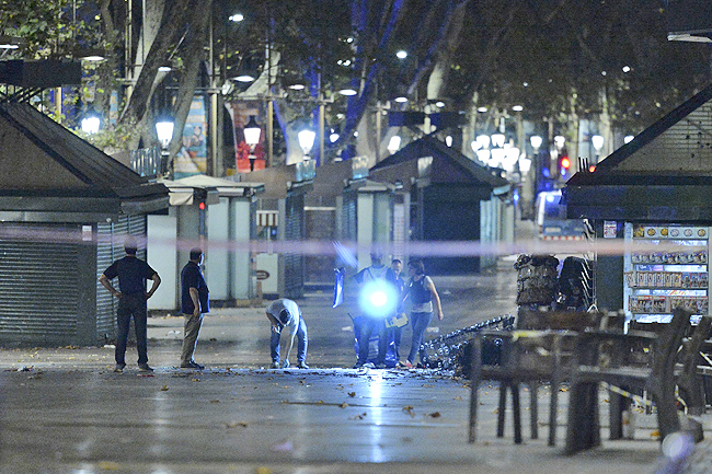 Surviving Spain terror suspects face charges in Madrid court