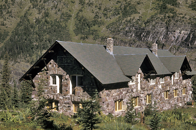 The Sperry Chalet in Glacier National Park, Montana. - AP