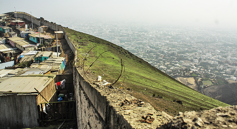 Wall Of Shame Provides Ongoing Symbol Of Inequality In Peru