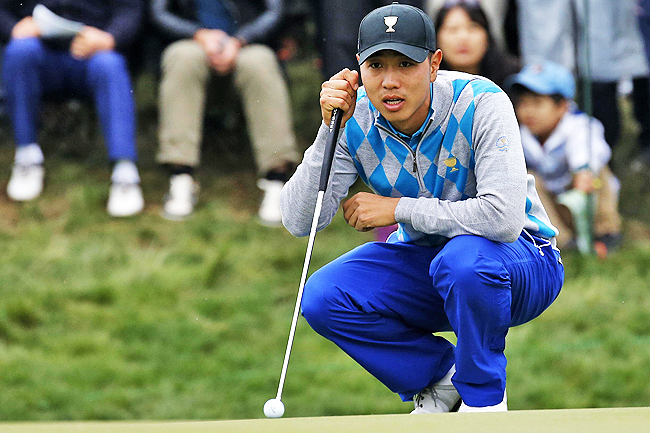 S Korean golfer Bae looks to fire again after army stint