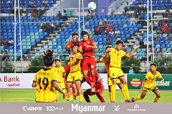 Brunei under-18s out of AFF tourney