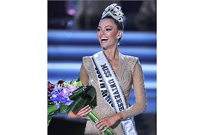 Meet Your New Miss Universe, Demi-Leigh Nel-Peters