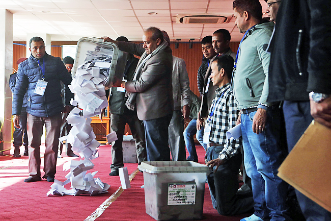 Left alliance emerges clear victor in Nepal polls; heres about it