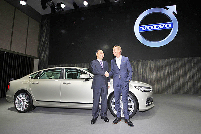 Geely to buy stake in truck maker AB Volvo