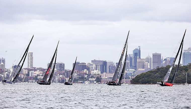 Sydney to Hobart: Comanche rockets down Tasmania coast ahead of race record