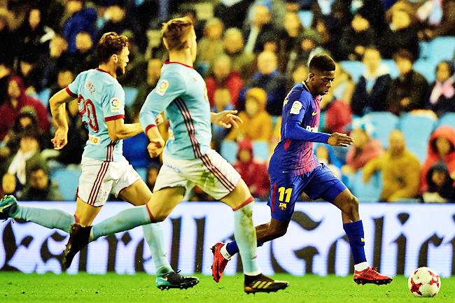 Ousmane Dembele thrilled with Barcelona start for Levante win