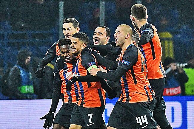 Shakhtar Donetsk come from behind to defeat Roma