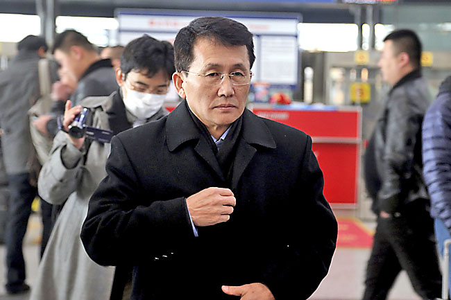 China says North Korean foreign minister on his way to Sweden