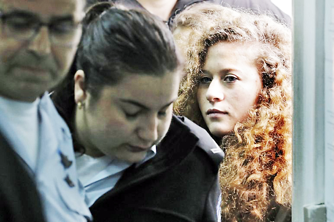 Palestinian who hit Israeli soldier jailed 8 months