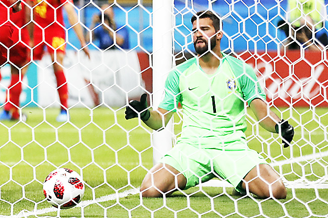 b1d5b0029 Brazilian goalkeeper Alisson is the world s most expensive goalkeeper after  joining Liverpool for 72.5 million euros. – AP