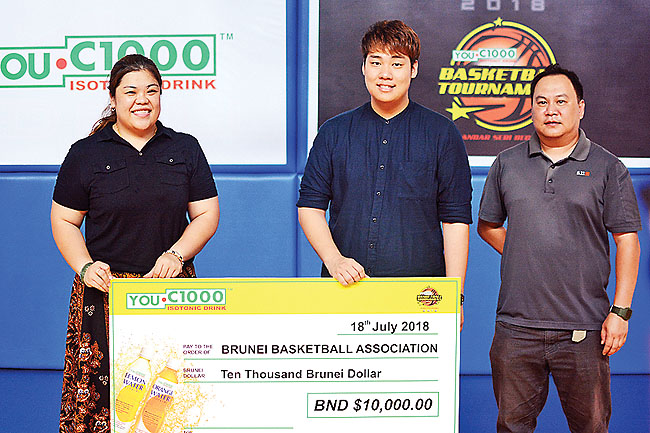 Nine teams compete in YOU-C 1000 Basketball Cup
