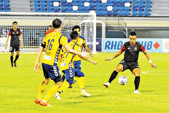 Adi rescues a point for DPMM FC