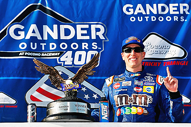 Kyle Busch matches Hornaday for career Truck Series wins — NASCAR in Brief