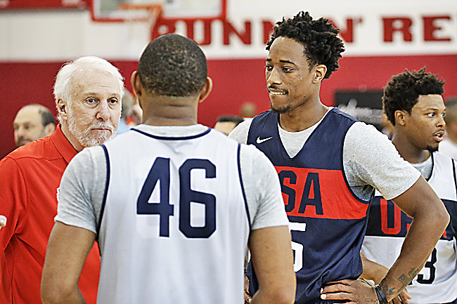 DeMar DeRozan won't play in NBA's Africa game after trade
