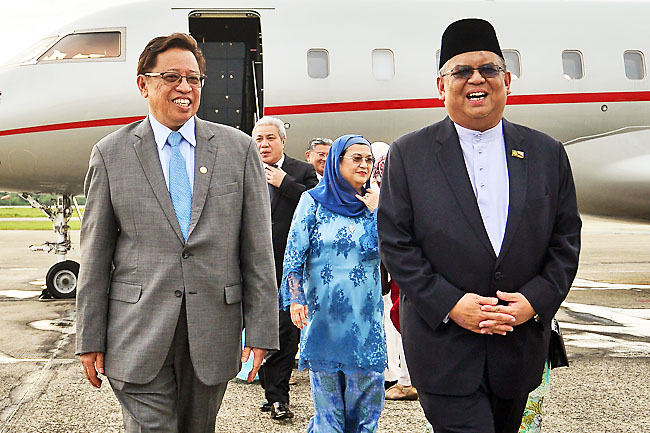 Sarawak Chief Minister in Brunei for two-day visit