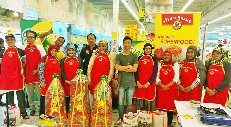 Three top cooking competition at GIANT