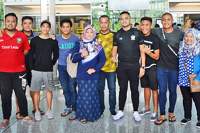 Brunei striker embarks on one-year stint with overseas club