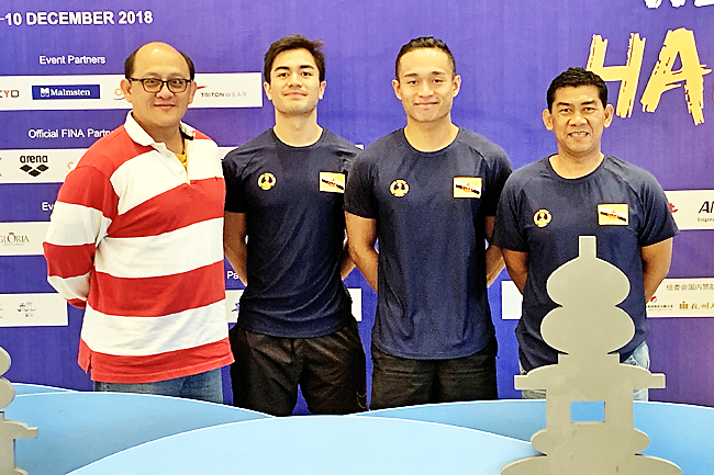 Muis breaks two national records at 14th FINA World Swimming Championships
