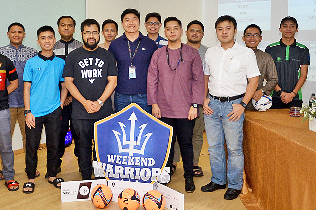 Weekend Warriors hold captains' briefing, tourney draw
