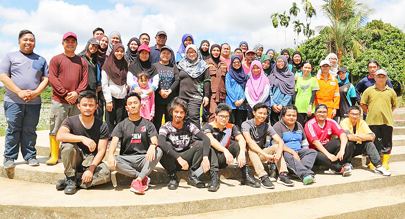 Thirty bags of litter collected in Tasek Merimbun clean-up (2019)