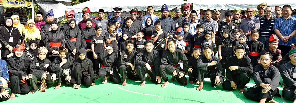 Silat performers take stage at celebration (2019)
