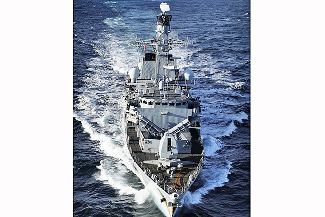 HMS Montrose to dock in Brunei (2019)