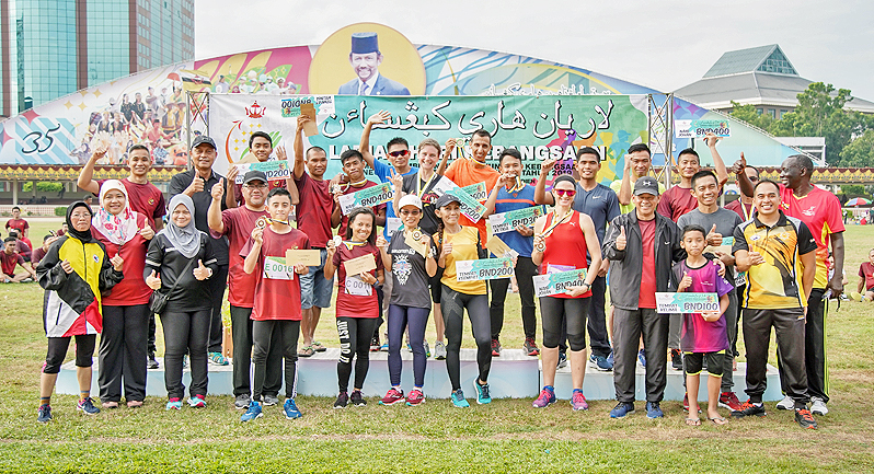 Younes, Yvette defend National Day Run 2019 titles