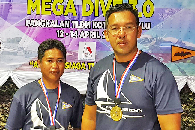 Brunei sailors make splash at Sabah competition (2019)