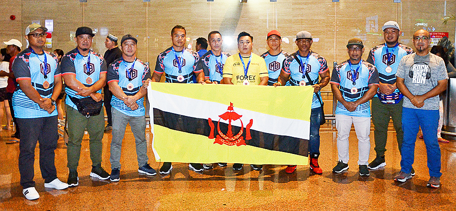 MB Athlete Brunei finish fourth in Malaysia tug-of-war meet (2019)