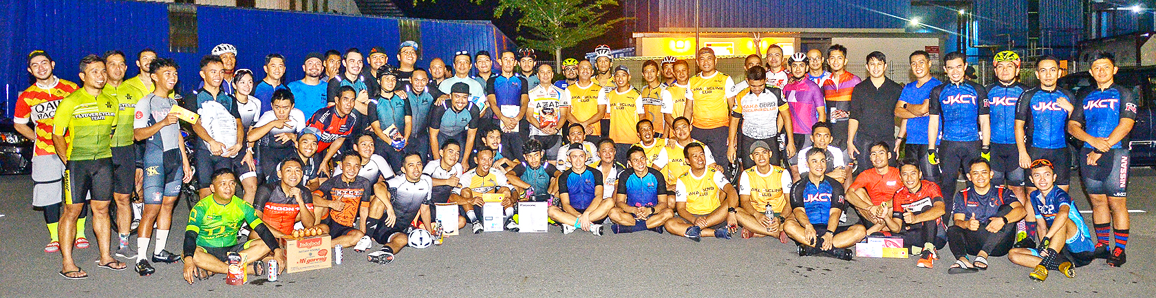 Cycling community holds training session to stay fit during Ramadhan (2019)