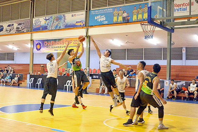 Linktech beat Veteran United in Chairman's Cup