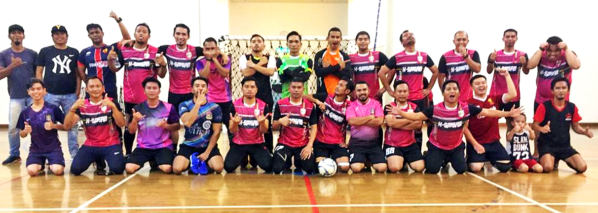 SMSAB Legends holds futsal match