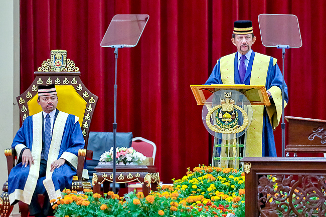 Constantly improve education system, urges His Majesty (2019)