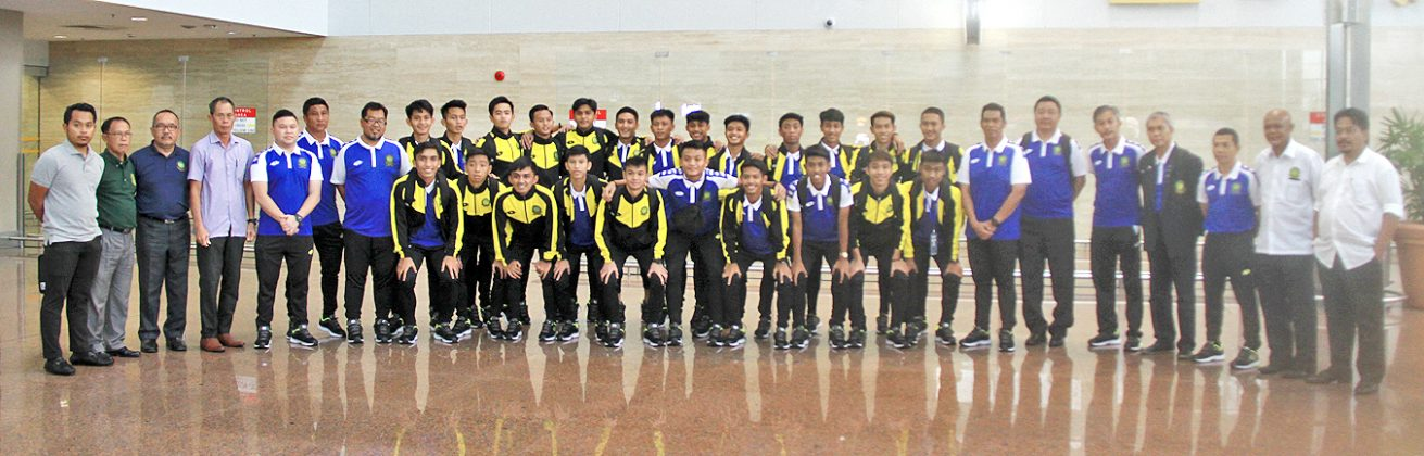 Brunei Darussalam under-18s team return from AFF meet (2019)