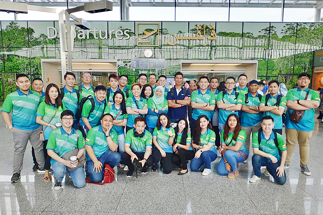 Standard Chartered staff athletes off to SC Games 2019
