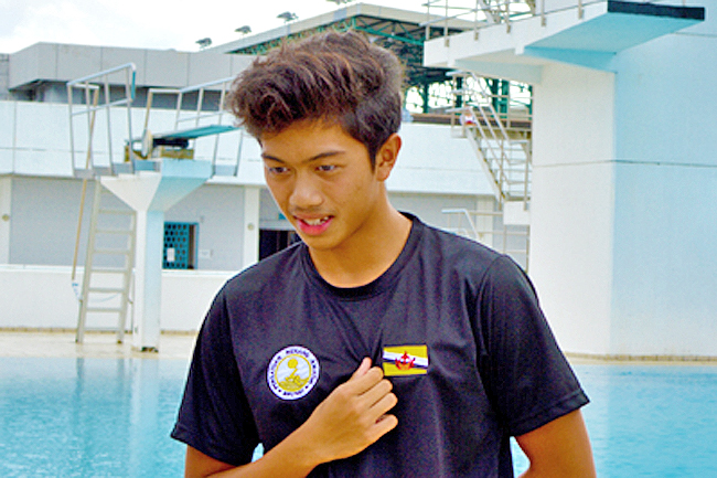 Brunei junior swimmer Haziq excited to represent country in world meet (2019)