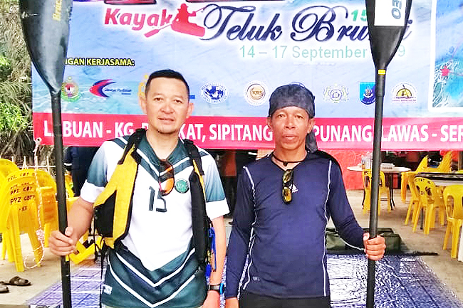 Brunei canoeists set to complete 150km journey from Labuan (2019)