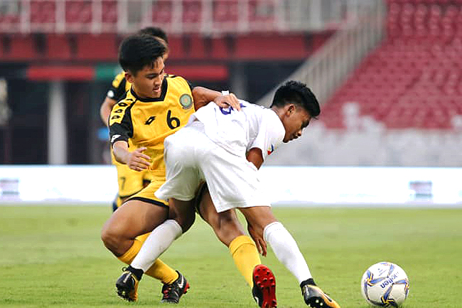 Brunei under 16s end AFC campaign with 3-2 defeat against Philippines (2019)