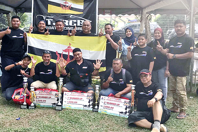 Brunei RC boat racers secure top three finishes (2019)