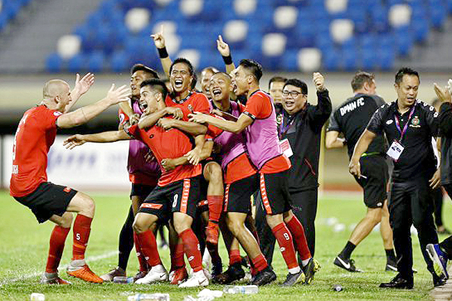 DPMM FC take Singapore Premier League crown as title rival Hougang draw (2019)
