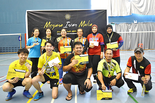 Badminton championship fosters closer ties among youth (2019)