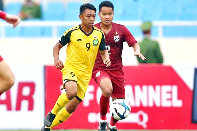 Tough teams for Brunei in SEA Games men's football (2019)