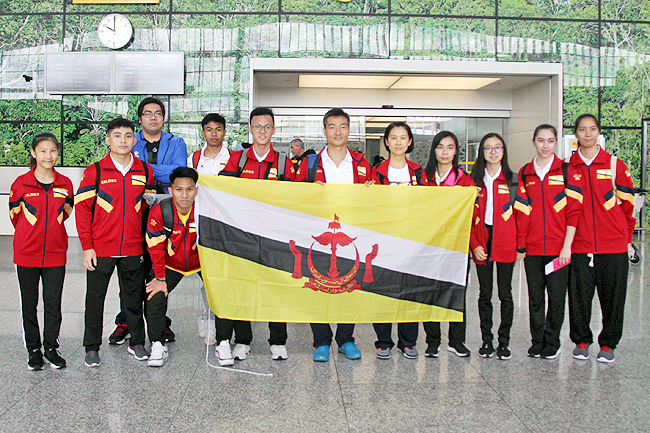 Brunei wushu athletes set to compete in World Championships (2019)